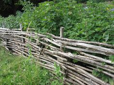 DIY fencing at Mary Arden's Farm, Stratford-upon-Avon by homegrowndotorg, via Flickr