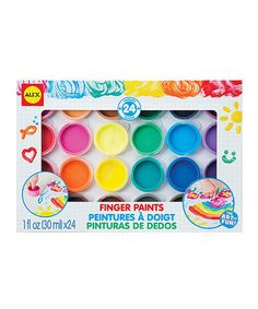 Another great find on #zulily! Finger Paint Set #zulilyfinds
