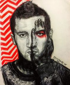 "5,087 Likes, 264 Comments - twenty one pilots fan art (@clique_art) on Instagram: ""Artist: @dannyale96w #cliqueart #twentyonepilots #tylerjoseph #joshdun #tøp #art #feature #drawing…"""
