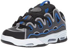 fba0552794 Osiris Men's D3 2001 Skate Shoe, Black/Royal, 6 M US Osiris https