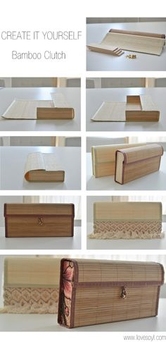 SOYL Story Of Your Life LVSYL: C.I.Y : Bamboo Clutch