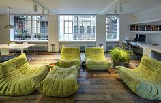 A London Loft Designed With a Nod to New York - NYTimes.com