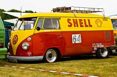 Shell oil co. Vintage VW van