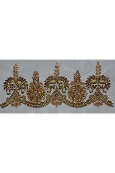 Buy Golden Party Hand Embroidery Border Online in India at leading online shop sareez.com. Choose from the huge collection.