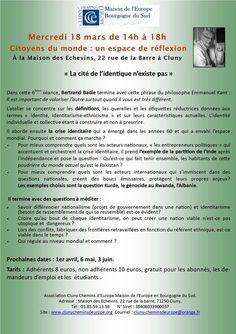 """Atelier """"citoyens du monde"""" à Cluny le 18 mars 2015."""