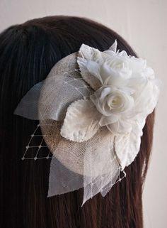 Wedding bridal hat accessory - Bridal headpiece