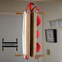 SICgrips: The SqueezeBox - An Adjustable Crack Hangboard Rock Climbing Workout, Indoor Climbing Wall, Hand Fist, Outdoor Gear, Outdoor Stuff, Vertical Or Horizontal, Wood Screws, Box Frames, Diy Crafts
