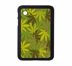 Protective Samsung Galaxy 2 (7.0) Tablet Case Marijuana Camouflage. $21.00, via Etsy.
