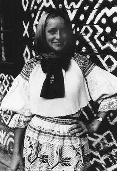 Čičmany, Slovakia Ruffle Blouse, Culture, Retro, People, Collection, Beautiful, Dresses, Life, Women