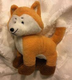 Rare Hobby Lobby Fox Plush Orange Brown Stuffed Soft Toy Cat Sewn Eyes  | eBay