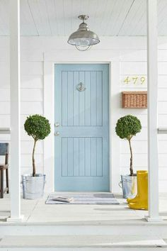 Picking out front doors has been one of my favorite things yet, and I can't wait to see them in place. Especially, farmhouse front door entrance give us comfy mind. The door is frequently the location where you can definitely… Continue Reading → Gray Front Door Colors, Grey Front Doors, Best Front Doors, Front Door Entrance, Painted Front Doors, Entrance Decor, Entrance Ideas, Beach Style Front Doors, Front Porch