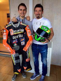Jorge Lorenzo & Max Biaggi