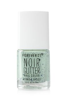 Minty Glittered Nail Polish | FOREVER21 PLUS - 1000062888