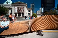 Urban Reef Encourages Summertime Street Lounging in Vancouver