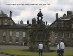 #Palace of #Holyroadhouse Edinburgh Scotland.  This is the Queen's home when she is in Scotland--it is open to visitors but closed during royal visits.