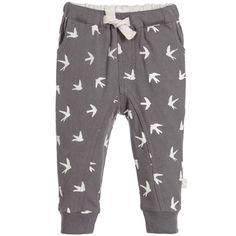9d047d7b Baby Boys Grey Swallow Print Joggers. Boys PantsKids OnlineSwallowBaby Boys JoggersSweatpantsZaraPajama PantsTrousers