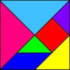 Tangram é um jogo divertido que estimula a memoria e a criatividade. Confira diversas sugestões de tangram para imprimir, e com modelos para colorir. Montessori Activities, Classroom Activities, Activities For Kids, Shapes Worksheets, Tracing Worksheets, Fun Math, Math Games, Cute Crafts, Crafts For Kids