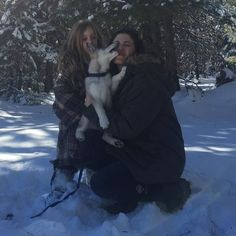 Snow puppy love  - thewickedgriffin.com