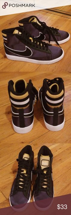 online store e853b 6750e Nike NSW Retro High Top Sneakers Satin-like material. Retro look. Brand new
