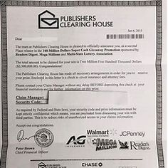 Enter to Win Publishers Clearing House Sweepstakes - Bing images 100 Million Dollars, State Lottery, Win Cash Prizes, Publisher Clearing House, Five Hundred, House Names, Online Sweepstakes, Rose City, Win Money