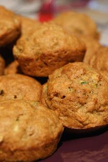 This is vegan: Delicious banana carrot zucchini muffins