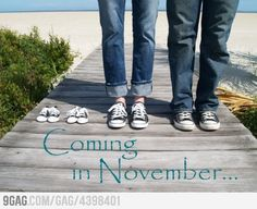Pretty much the cutest announcement...