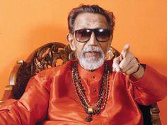 Balasaheb Thakrey,an Indian politician & the founder of Shiv Sena Party