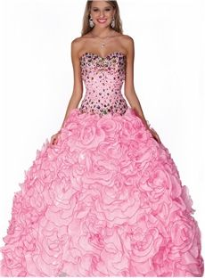 Luxurious Ball Gown Floor Length Sweetheart Beading Quinceanera Dress