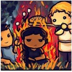 Hunger Games Fan Art / Gale / Katniss / Peeta /