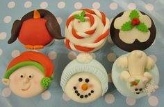 mrs bakers cakes christmas cupcakes  by Mrs Baker's Cakes, via Flickr