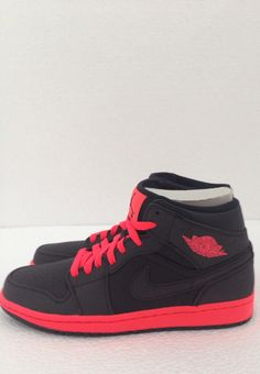 6897089ede0 Air Jordan 1 Mid Black Infrared