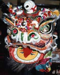 Lo On Kee (羅安記) Lion Dragon, Dragon Head, Chinese Arts And Crafts, Chinese Lion Dance, Foo Dog, Chinese Culture, Teaching Art, Kung Fu, Martial Arts