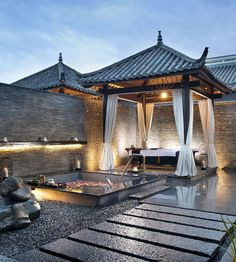 Pullman Lijiang Resort & Spa Lijiang, China Architecture Design Resort Spa Wellness outdoor sky property house building home backyard cottage Villa mansion outdoor structure Courtyard farmhouse stone