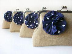 clutches+-for-bride-maids-dots+flowers.jpg 640×480 pixels
