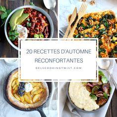 20 recettes d automne reconfortantes