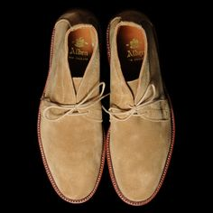 Alden UNLINED CHUKKA BOOT IN TAN SUEDE 1494 | Unionmade Goods