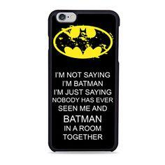 Hero Batman Words iPhone 6 Case
