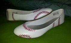 Just made my 1st  pair of Baseball Flats! YAY!