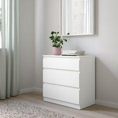 IKEA Kullen Chest of 3 Drawers White Bedroom Furniture Ikea Chest Of Drawers, Bedroom Drawers, White Bedroom Furniture, Home Furniture, Funky Furniture, Furniture Design, White Drawers, Plywood Furniture, Chair Design
