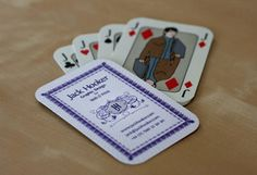 Playing Cards Business Cards