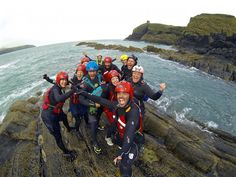 My Top 10 OMGB Moments in Pembrokeshire Wales, Great Britain UK - Visit Britain Celtic Quest Coasteering