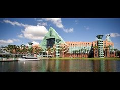 Disney's Dolphin Resort (Swan and Dolphin) Overview - Walt Disney World 2011 HD