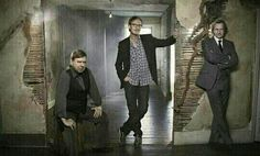 Timothy Spall, David Thewils and Gary Oldman