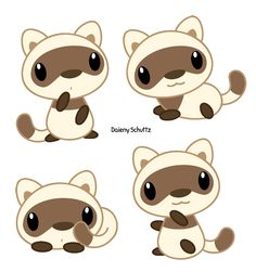 Chibi Black Footed Ferret by Daieny.deviantart.com on @DeviantArt