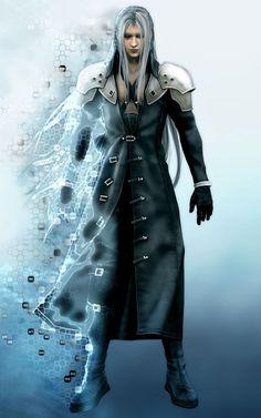 Sephiroth Full Body CG - Characters & Art - Final Fantasy VII: Advent Children