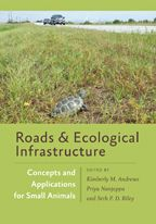 Roads and Ecological Infrastructure is the first book to focus on reducing conflict between roads and small animals by Kimberly Andrews (BS '99, MS '04, PhD '10). For a special 30% discount, enter code HNAF.