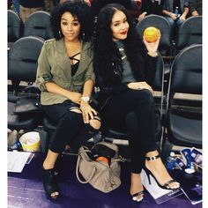 Court side with my boo @ The Kings game.
