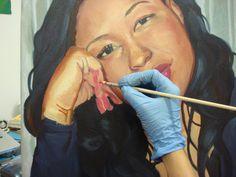 Working on a portrait commission due in a few days! Fine Art, Portrait, Headshot Photography, Portrait Paintings, Visual Arts, Drawings, Portraits