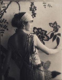 Baron de Meyer: Portrait of a woman, ca. 1925 by trialsanderrors, via Flickr