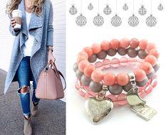 My tu leniuchujemy , a tu kolejna porcja nowości 💎 w zestawach bransoletek- pudrowe 🌸bransoletki z zawieszkami charms ❤🌙🔒 i jadeitem do stonowanych, zimowych kolorów... 🛒https://ecobizuteria.pl/…/690-1029-zestaw-bransoletki-losos… #biżuteriairękodzieło #bizuteriahandmade #bizuteria #ecobizuteria #ecobizuteriapl #fashion #trendy #trendy2018 #love #girl #beautiful #jewellery #bracelet #cute #like4like #followme #like #style #moda #art #handmade #biżuteriasklep